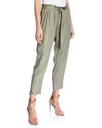 Ramy Brook - Allyn Drawstring Pants With Utility Pockets - Lyst
