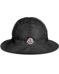 Moncler - Logo Bucket Hat - Lyst