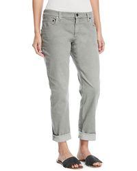 Brunello Cucinelli - Straight-leg Large-cuff Jeans - Lyst
