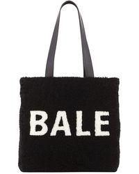 9a0cd2ce7bcd Lyst - Balenciaga Mini Pickstitch Bucket Bag in Natural