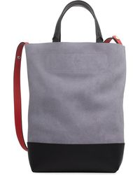Rag & Bone - Walker Convertible Tall Suede/leather Tote Bag - Lyst