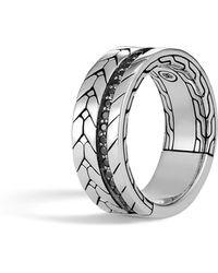 John Hardy - Men's Modern Chain Ring - Lyst