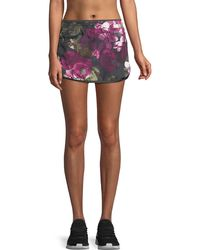The North Face - Reflex Floral-print Performance Skort - Lyst