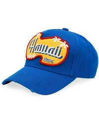 DSquared² - Hawaii Patch-front Baseball Cap - Lyst