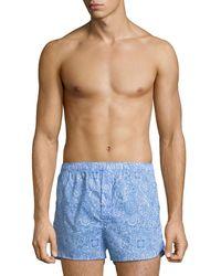 Derek Rose | Ledbury 6 Modern-fit Boxer Shorts | Lyst
