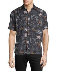 Culturata - Men's Lightweight Breathable Shirt - Lyst