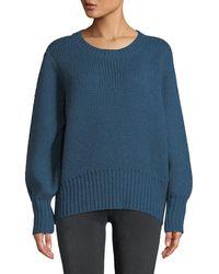 Parker - Matty Tie-back Crewneck Sweater - Lyst