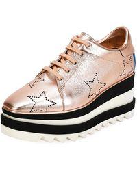 Stella McCartney - Sneakelyse Stars Platform Sneakers - Lyst