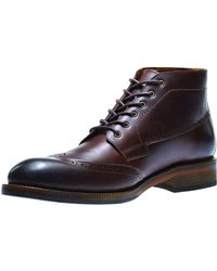 Wolverine - Harwell Leather Wing-tip Boot - Lyst