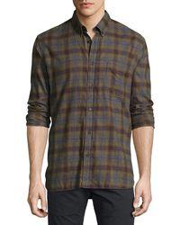Billy Reid - Tuscumbia Plaid Cotton Shirt - Lyst