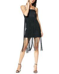 Ramy Brook - Rikki Sleeveless Fringe Cocktail Dress - Lyst