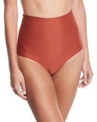 Mara Hoffman - Lydia High-waist Solid Swim Bikini Bottom - Lyst