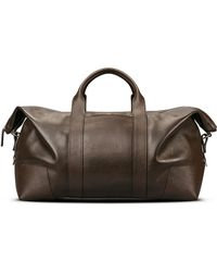 Shinola - Large Leather Carryall Duffle Bag - Lyst
