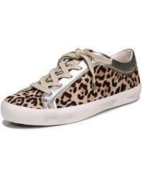 Sam Edelman - Britton 2 Calf Hair Sneaker - Lyst