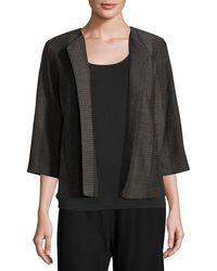 Eileen Fisher - Kurume Dash Organic Cotton Jacket - Lyst