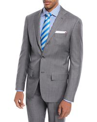 Kiton | Super 160s Wool Sharkskin Two-piece Suit | Lyst
