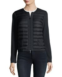 Moncler - Maglia Quilted Zip-front Jacket - Lyst