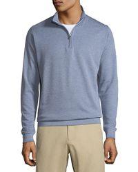 Peter Millar - Crown Comfort Men's Interlock Quarter-zip Sweater - Lyst