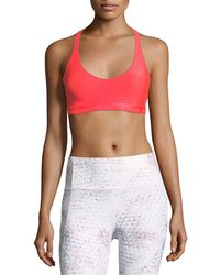 Under Armour - Armour® Eclipse Scoop-neck Strappy Sports Bra - Lyst