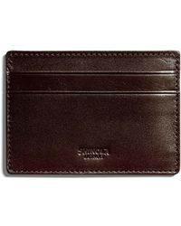Shinola | Six-pocket Leather Card Case | Lyst