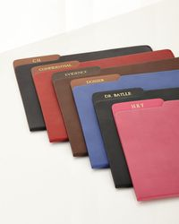Graphic Image - Genuine Leather File Folder - Lyst
