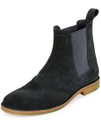 Bottega Veneta - Aussie Suede Chelsea Boot - Lyst