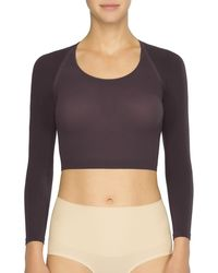 Spanx - Arm Tights Solid Shaper Crop Top - Lyst
