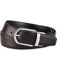 Ermenegildo Zegna - Men's Reversible Leather Belt - Lyst