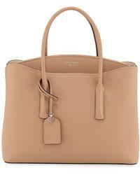 Kate Spade - Margaux Large Leather Satchel Bag - Lyst