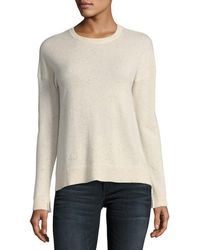 Zadig & Voltaire - Cici Star-patch Cashmere Pullover Sweater - Lyst