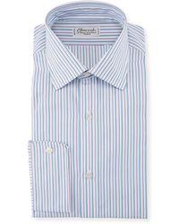 Charvet - Men's Two-tone Pinstripe Dress Shirt - Lyst