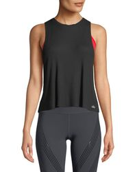 Alo Yoga - Flow Ribbed Thermal Racerback Activewear Tank - Lyst