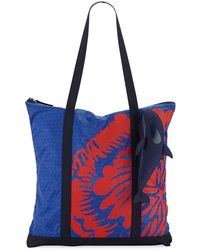 Tory Sport - Packable Orca Printed Tote Bag - Lyst