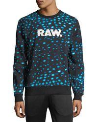 G-Star RAW - Meil Stalt Graphic Sweater - Lyst