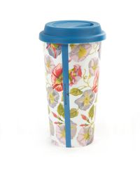 Mackenzie-Childs - Morning Glory Travel Cup - Lyst