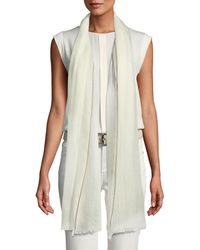 Loro Piana - End-on-end Cashmere Scarf - Lyst
