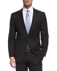 BOSS - Huge Genius Slim-fit Basic Suit Black - Lyst