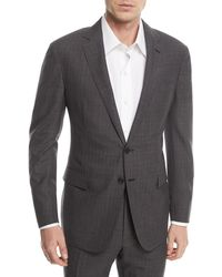Ralph Lauren - Two-piece Glen Plaid Wool Suit - Lyst