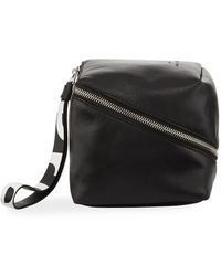 Proenza Schouler - Mini Cube Super Glass Leather Wristlet Bag - Lyst