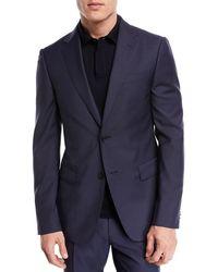 Z Zegna - Drop 8 Two-piece Wool Suit - Lyst