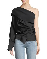 Awake - Asymmetric Twisted Top - Lyst