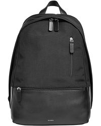 Skagen - Kroyer Leather-trim Backpack - Lyst