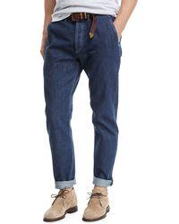 Brunello Cucinelli - Leisure-fit Straight-leg Denim Jeans - Lyst