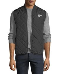 """G-Star RAW - Men's Blake """"uniform Of The Free"""" Quilted Vest - Lyst"""