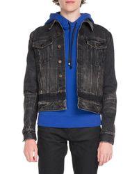 Saint Laurent - Classic Denim Jacket - Lyst