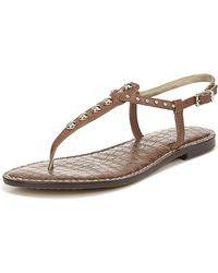 315ffd0da Sam Edelman - Gigi Studded Flat Sandals - Lyst