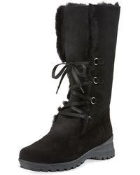 La Canadienne - Annabella Shearling Fur-lined Boot - Lyst