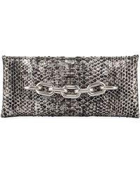 Tom Ford - Python Chain-handle Clutch Bag - Lyst