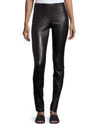 Stouls - Jo Skinny Leather Leggings - Lyst