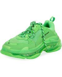 5ff3977c5858 Lyst - Balenciaga Sneakers - Men s High   Low Top Shoes